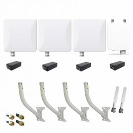 LigoWave CCTV Bundle for 3 Cameras – Omni 5dBi (preconfigured)