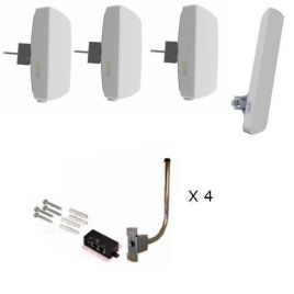 Ligowave CCTV Bundle for 3 Cameras - Sector Antenna