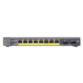 NETGEAR GS110TP 8 PORT GIGABIT SWITCH