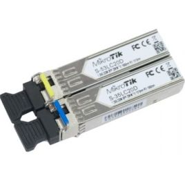 MikroTik S-3553LC20D 2x 20Km Single Mode SFP Modules
