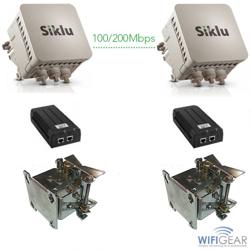 Siklu EtherHaul EH-700 Bridge Kit