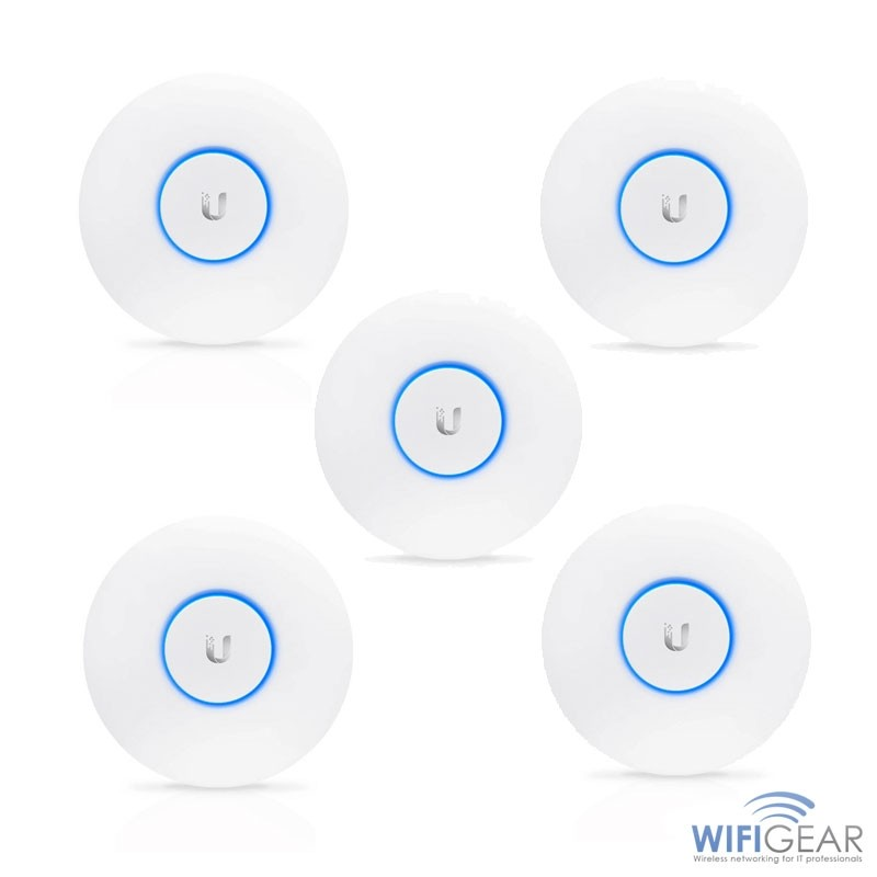 Ubiquiti UniFi AP AC LR (5 Pack) MAIN