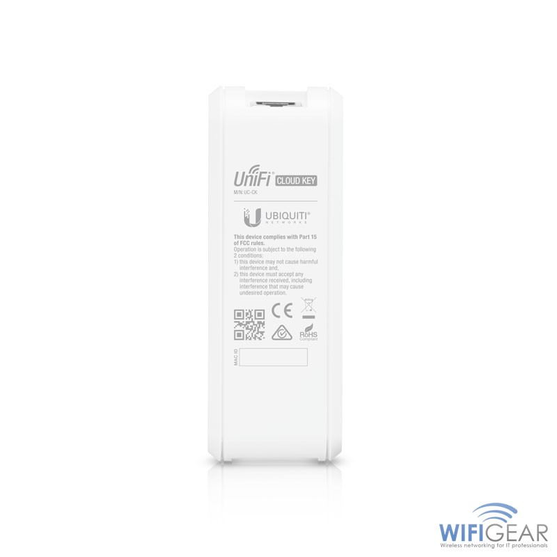 Ubiquiti Unifi Cloud Key Controller rear