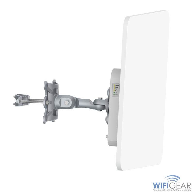 Ligowave DLB MACH 5 (5GHz) CPE front angled